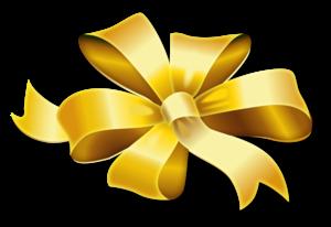 Golden Ribbon PNG Image PNG Clip art