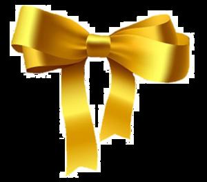 Golden Ribbon PNG Pic PNG Clip art