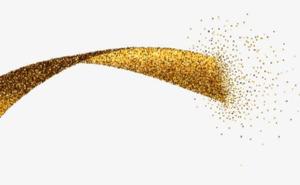 Golden Ribbon Transparent PNG PNG Clip art