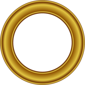 Golden Round Frame PNG Free Download PNG Clip art