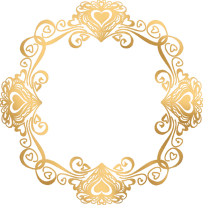 Golden Round Frame Transparent PNG PNG Clip art