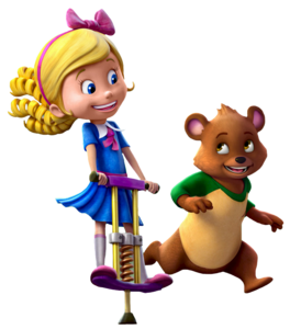 Goldie And Bear PNG Image PNG Clip art