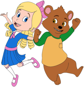 Goldie And Bear PNG Pic PNG Clip art