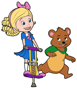 Goldie And Bear Transparent Background PNG Clip art
