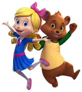 Goldie And Bear Transparent PNG PNG Clip art