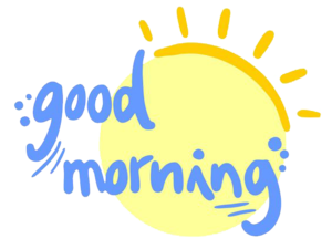 Good Morning PNG Image PNG image