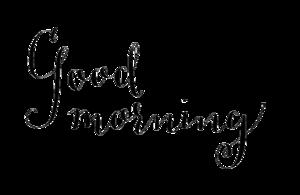 Good Morning PNG Photo PNG Clip art