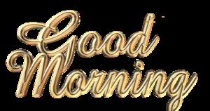 Good Morning Transparent PNG PNG Clip art