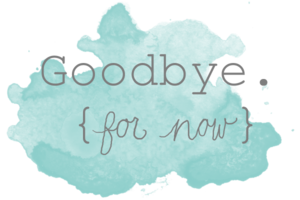 Goodbye PNG File PNG Clip art