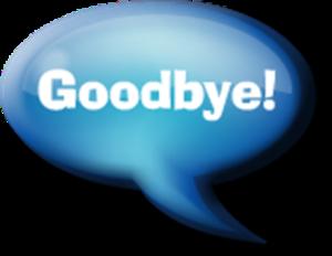 Goodbye PNG Clip art