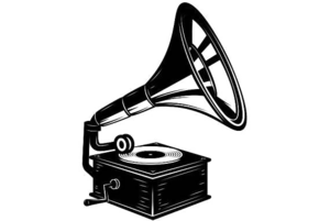 Gramophone Background PNG PNG Clip art