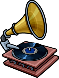 Gramophone Transparent Background PNG Clip art