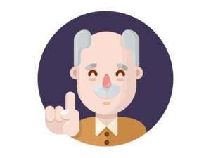 Grandfather Transparent PNG PNG icon
