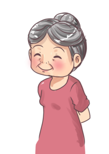Grandmother PNG Image PNG Clip art