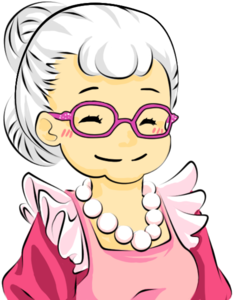 Grandmother PNG Pic PNG Clip art