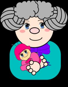 Grandmother Transparent Background PNG Clip art