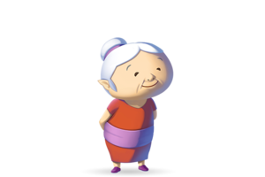 Grandmother Transparent PNG PNG clipart