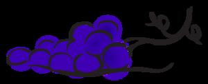 Grapes Cartoon PNG PNG Clip art