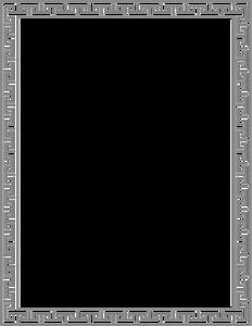 Gray Border Frame PNG File PNG Clip art