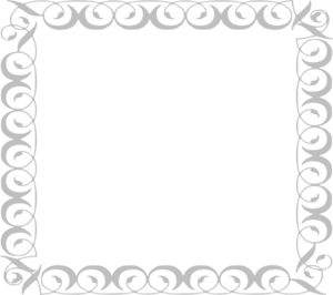Gray Border Frame PNG Pic PNG Clip art