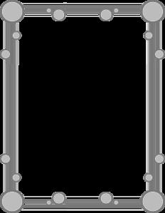 Gray Border Frame PNG Transparent Image PNG Clip art