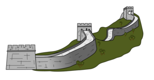 Great Wall of China Transparent PNG PNG Clip art