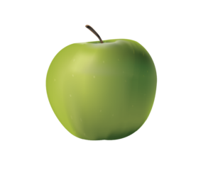 Green Apple PNG Transparent PNG Clip art