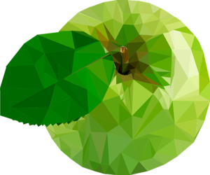 Green Apple Transparent Background PNG Clip art