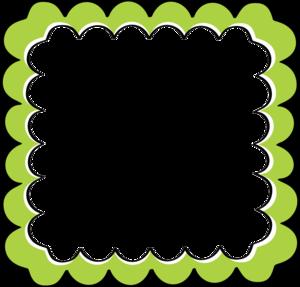 Green Border Frame PNG File PNG Clip art