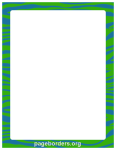 Green Border Frame PNG Image PNG Clip art