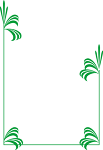 Green Border Frame PNG Pic PNG Clip art