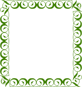 Green Border Frame PNG Picture PNG Clip art