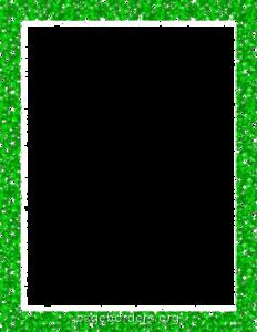 Green Border Frame PNG Transparent Picture PNG Clip art