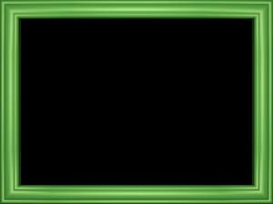 Green Border Frame Transparent Background PNG Clip art