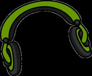 Green Headphones Clip Art PNG PNG Clip art