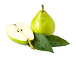 Green Pear Vitamin K Levels PNG PNG Clip art