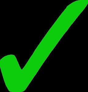 Green Tick PNG File PNG Clip art