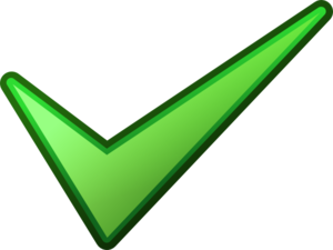 Green Tick PNG HD PNG Clip art