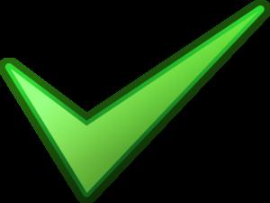 Green Tick PNG HD PNG Clip art
