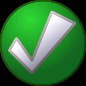 Green Tick PNG Transparent PNG Clip art