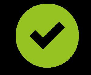 Green Tick Transparent Background PNG Clip art