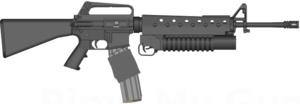 Grenade Launcher PNG Transparent Picture PNG Clip art