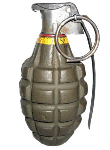 Grenade PNG Photo PNG Clip art