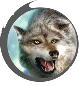 Grey Wolf PNG HD PNG Clip art
