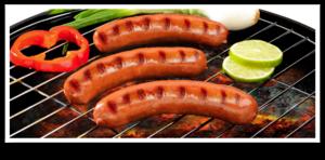 Grilled Sausage PNG Clip art