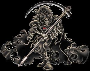 Grim Reaper PNG Image PNG Clip art