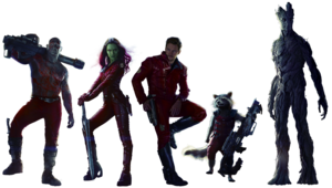 Guardians of The Galaxy Transparent Background PNG Clip art