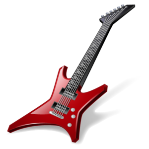 Guitar Rock Music Icon PNG PNG Clip art