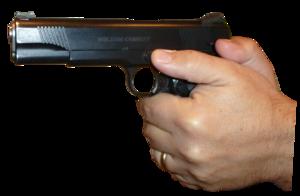 Gun In Hand PNG Clipart PNG Clip art