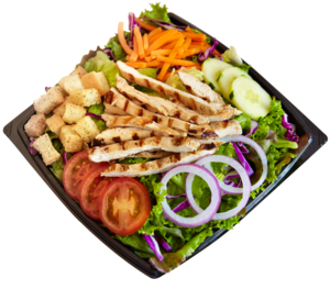 Habit Burger Salad PNG PNG images